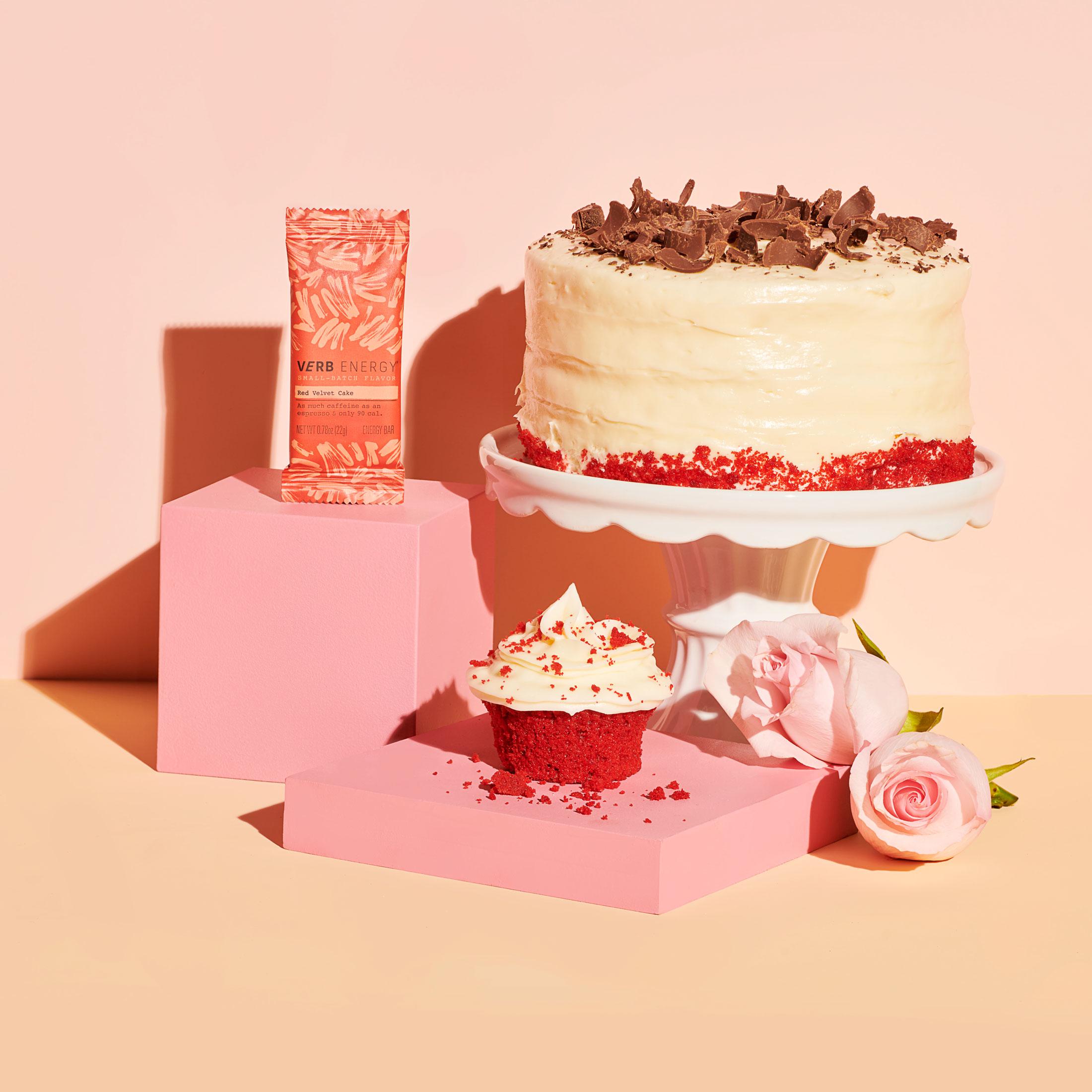 Red Velvet Cake Verb Bar Pouch